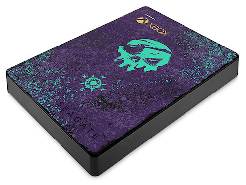 Sea of Thieves Themed Seagate Game Drive for Xbox Announced